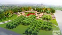 邯钢厂区绿化效果图